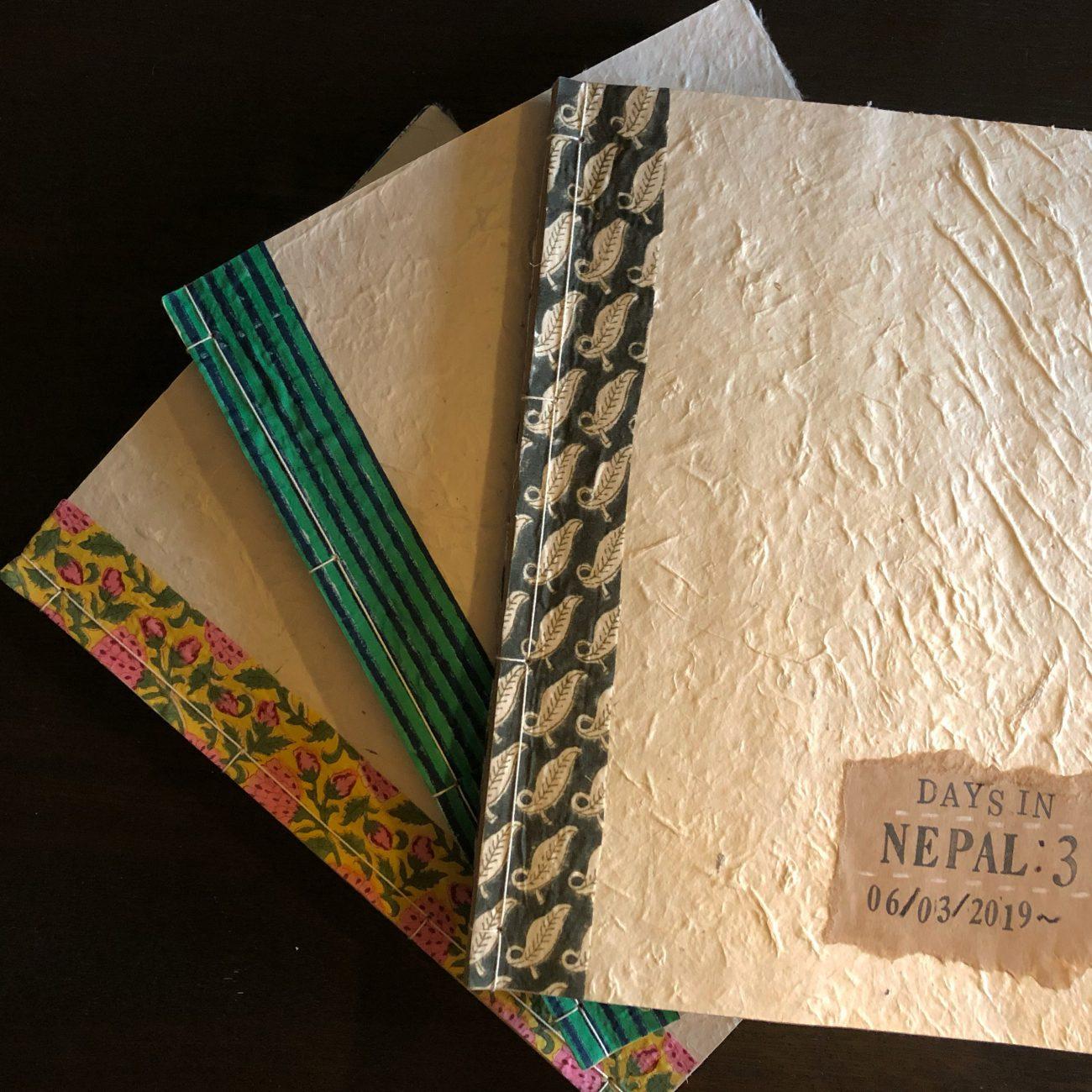 ネパール日記、完成