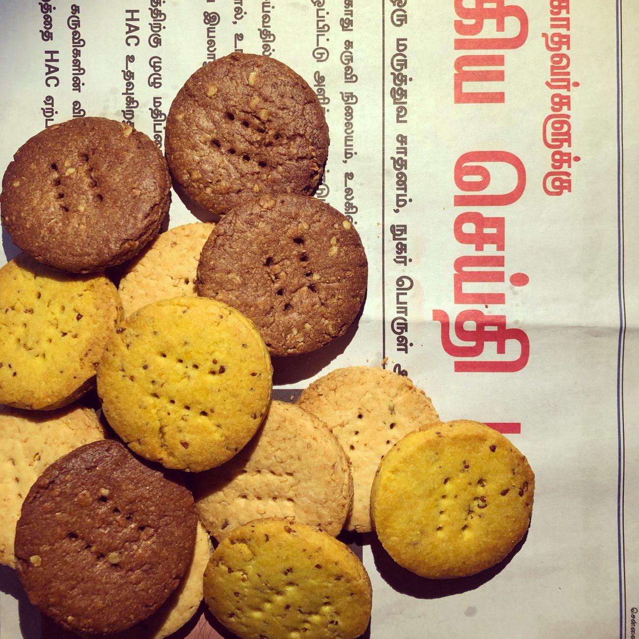 Vegan spice&herb Biscuit