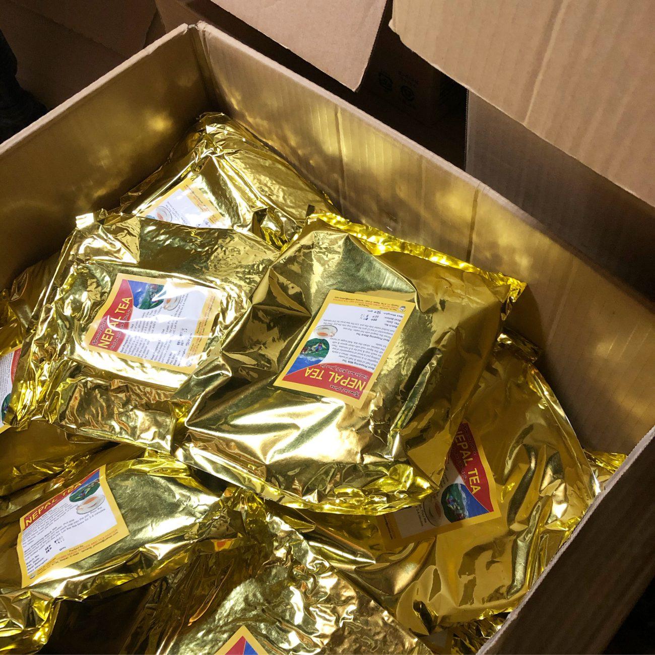 ネパールの茶葉が到着