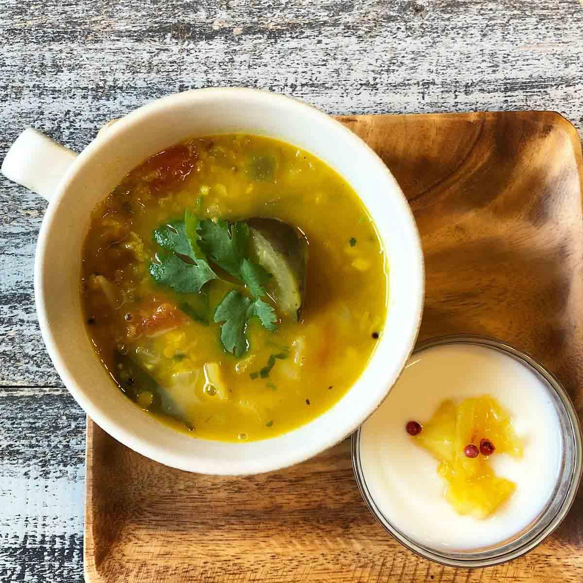 今日のスパイススープ